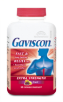 Gaviscon Tablets EX Butterscotch 60's