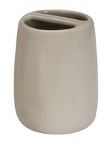 Ceramic Toothbrush Holder - Tan