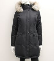 Canadiana Ladies' Down-Blend Parka Jacket Black XS/TP