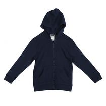 Athletic Works Toddler Boys' Zipper Hoodie Navy 2T
