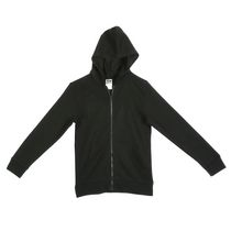 Athletic Works Boys' Zipper Hoodie Black M/M