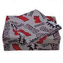 Mainstays Kids Graffiti Microfiber Sheet Set Double