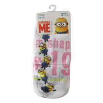 Minions Girls' Low Cut Socks, Pack of 3 7-10