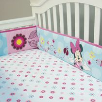 "Minnie Mouse ""Pretty in Gingham"" Versatile Bumper"