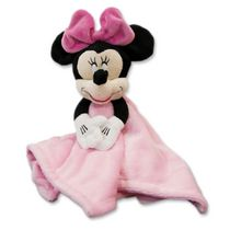 "Minnie Mouse ""Pretty in Gingham"" Security Blanket"