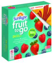Sun-Rype Fruit to Go 100% Fruit Variety Pack