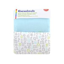 Garanimals Flannel Fitted Crib Sheets Neutral