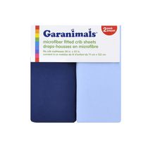 Garanimals Microfiber Fitted Crib Sheets Boy 2pk