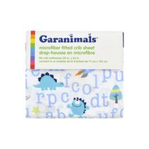 Garanimals Microfiber Fitted Crib Sheet Boy
