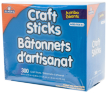 Elmer's Jumbo Craft Sticks
