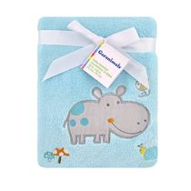 Garanimals Fleece Blanket Hippo