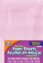 Elmer's Sticky Back Foam Sheets - Multi Colour
