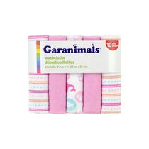 Garanimals Washcloths for Girl 10 Pack