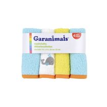 Garanimals Washcloths for Neutral 4 Pack