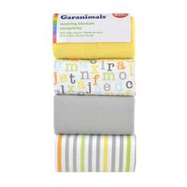 Garanimals 4-Pack Receiving Blankets ABC