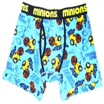 Despicable Me Mens Sleep Boxer Briefs Small
