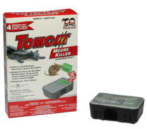Tomcat Mouse Killer Mouse Bait Station 4pk