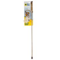 Pet Zone Play'n Squeak Tethered and Feathered Wand™ Cat Toy
