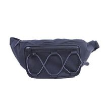 Aero Leather Waist Bag With Bungee