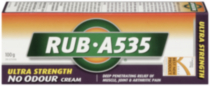RUB·A535® Ultra Strength No Odour Cream 100g
