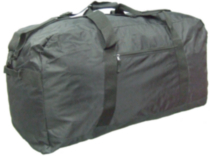 "McBrine 33"" jumbo nylon Duffle bag black"
