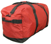 "McBrine 33"" jumbo nylon Duffle bag Red"