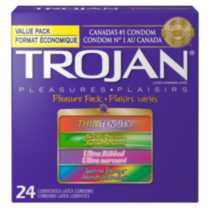 Trojan® Pleasure Pack Lubricated Latex Value Pack Condoms