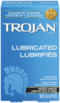 Trojan® Lubricated Classic Design Premium Lubricated Latex Condoms