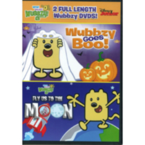 Wow! Wow! Wubbzy! Halloween 2-Pack: Wubbzy Goes Boo / Fly Us To The Moon
