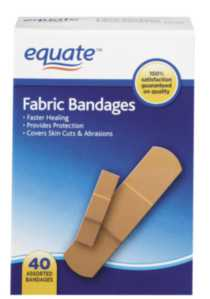 Equate Fabric Bandages 40's