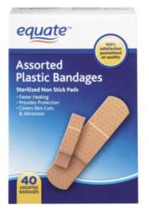 Equate assorted plastic 40's