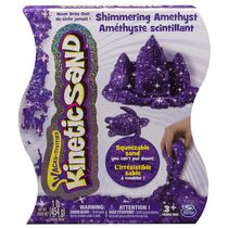 Kinetic Sand 1 lb Shimmering Amethyst Purple Squeezable Sand