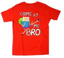 Adventure Time Boys Short Sleeve Crew Neck T-Shirt M