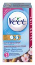 Veet: Easy to Use Wax Strips - Face & Bikini