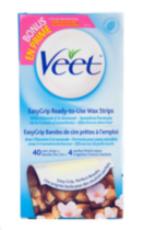 Veet : Easy to Use Wax Strips - Sensitive Formula 40CT