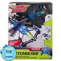 Air Hogs Switchblade Ground and Air Race Blue RC Helicopter