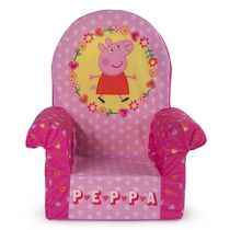 Marshmallow Furniture Peppa Pig Children's Upholstered High Back Chair