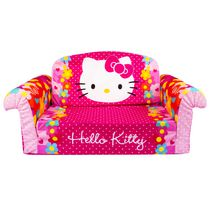 Marshmallow Hello Kitty Furniture Flip Open Sofa