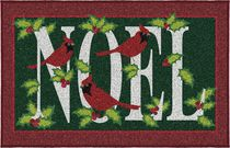 Holiday Time Noel Printed Mat