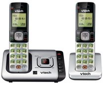 VTech 2 Handset Cordless Answering Phone System with Caller ID/ Call Waiting-CS6729-2
