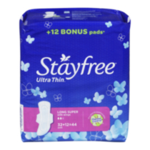 Serviette hygiénique - Stayfree Ultra Mince Long avec ailes