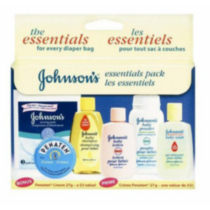 JOHNSON'S Baby Essentials Pack