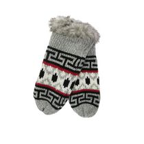 Canadiana Women's Fairisle Mittens