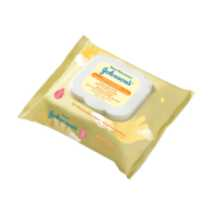 JOHNSON'S® Hand & Face Wipes, 25 Count