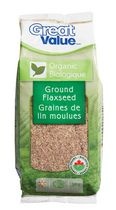 Great Value Organic Ground Flaxseed
