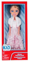 kid connection Winter Princess Doll, Pink
