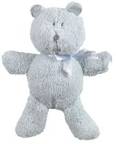 Kushies Baby Teddy Bear - Blue