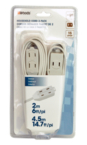 Woods 2 Pack Light Duty Household Cords