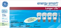 LFC T2 Spiral energy smart® GE 13 W – paquet de 3