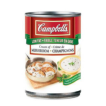 Campbell's Low Fat Cream of Mushroom